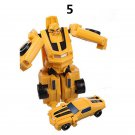 Mini Bumblebee Plastic Robot Cars Transformers The Last Knight Action Figure Educational Puzzle