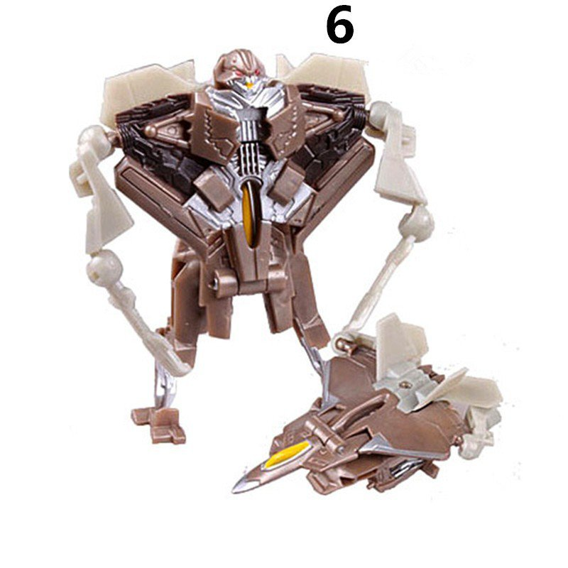 Mini Air Plane Plastic Robot Cars Transformers The Last Knight Action Figure Educational Puzzle