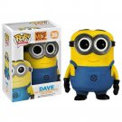 Funko POP Movies Despicable Me 3 Minions Dave 10cm Pvc Vinyl Action Figure