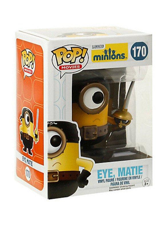 Funko POP Movies Despicable Me 3 Minions Eye Figure, Matie 10cm Pvc Vinyl Action Figure