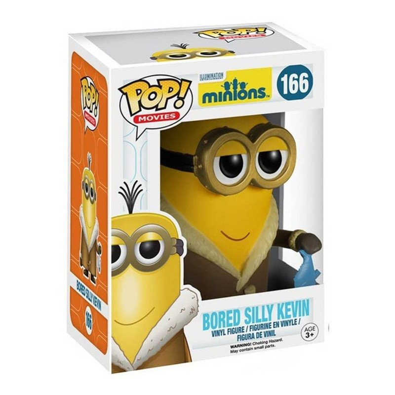 Funko POP Movies Despicable Me 3 Minions Bored Silly Kevin 10cm Pvc Vinyl Action Figure