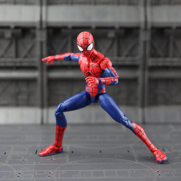 Movie Toy Action Figure Spider Man Homecoming Cartoon Model Doll Gift PVC 17cm