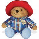 "7.25"" Sleepy Time Paddington Bear 2 Move with Snore in Plaid Pajamas"