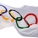 Nylon Flag Pyeongchang Olympics 2018 3 Feet x 5 Feet