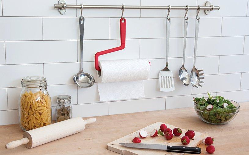 Peleg Design ROLLO Paper Towel Hanger Home Kitchen Gifts free ship