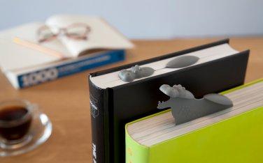 Peleg Design HIPPOMARK Hippo Bookmark Home Kitchen Gifts Office free ship