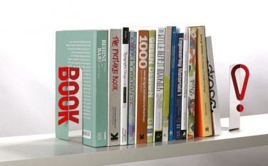 Peleg Design REFLECTIVE BOOKEND A Pair Of Bookends  Home Kitchen Gifts Office free ship