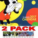 Disney Mickey and Friends - 2017 Wall Calendar