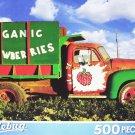 PuzzleBug 500 Piece Puzzle ~ Organic Strawberries Farm Truck