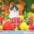 Autumn Kitten - Puzzlebug - 500 Pieces Jigsaw Puzzle