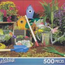 Puzzlebug 500 Piece Jigsaw Puzzle ~ Colorful Garden Tools