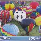 Puzzlebug 500 ~ Colorful Hot Air Balloons by LPF