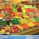 Colorful Fruit Stand - Puzzlebug - 500 Pieces Jigsaw Puzzle
