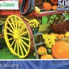 Autumn Harvest Vermont - Puzzlebug - 500 Pc Jigsaw Puzzle - NEW