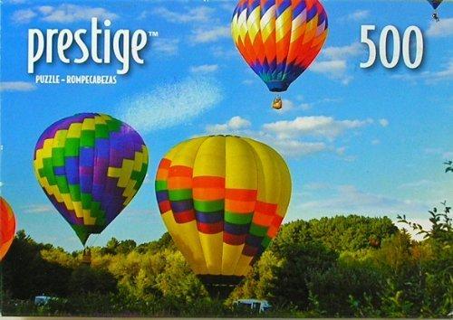 """Prestige Hot Air Balloons Hudson, Mass 500 Piece Jigsaw Puzzle 9"""" x 13"""""""