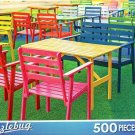 Colorful Wooden Armchairs - Puzzlebug - 500 Pieces Jigsaw Puzzle