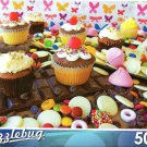 Cupcake Candy Madness - Puzzlebug - 500 Pieces Jigsaw Puzzle