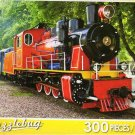 Steam Locomotive At the Station - 300 Piece Jigsaw Puzzle
