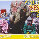 Puzzlebug 300 Piece Puzzle ~ Three Circus Clowns and Elephant