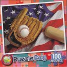 Puzzlebug 100 Piece Puzzle ~ America's Favorite Pastime.