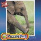 Puzzlebug 100 Piece Puzzle ~ Baby Elephant
