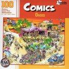 Comics - Oasis - 100 Piece Jigsaw Puzzle