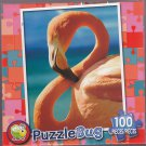 Puzzlebug 100 ~ Pink Flamingo