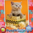 Cute Kitten - PuzzleBug - 100 Piece Jigsaw Puzzle