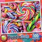 Sweet Swirls - Puzzlebug 100 Piece Jigsaw Puzzle