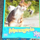 Menagerie 100 Piece Puzzle - Kitten