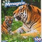 Menagerie 100 Piece Puzzle - Tigers