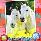 Pretty Arabian Horses - 100 Piece Jigsaw Puzzle Puzzlebug