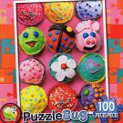 Cute Cupcakes - Puzzlebug - 100 Pieces Jigsaw Puzzle