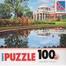 Thomas Jefferson's house - 100 Pieces Jigsaw Photo Puzzle