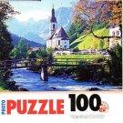 Ramsau Cherch, Bavaria - 100 Pieces Jigsaw Photo Puzzle