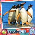 Gentoo Penguins Falkland Islands - Puzzlebug 100 Pc Jigsaw Puzzle