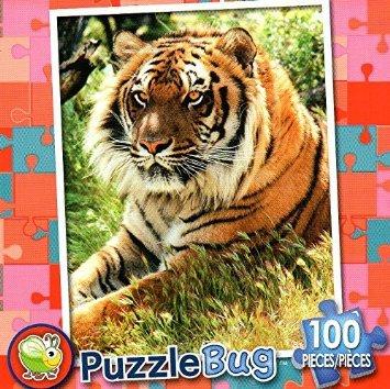 Bengal Tiger - Puzzlebug 100 Pc Jigsaw Puzzle