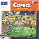 Paper City Puzzles Comics: Anyone For Tennis