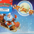 Jolly Santa - Christmas Character - Large 12 Piece Glitter Puzzle