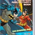 Batman Jumbo Coloring & Activity Book ~ the Dynamic Duo