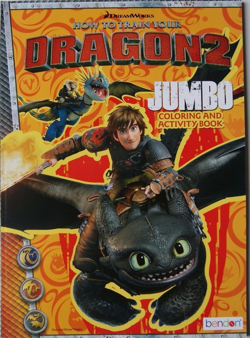 how to train your dragon colouring book