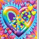Lisa Frank Giant Coloring & Activity Book ~ Heart-Shaped Peace & Love Sign