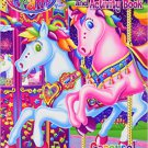 Lisa Frank Giant Coloring & Activity Book ~ Carousel Fun