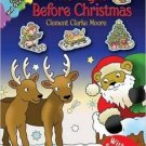The Night Before Christmas: Coloring and Sticker Fun!