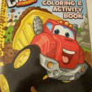 Tonka Chuck & Friends Jumbo Coloring & Activity Book ~ Chuck Haulin' Cover