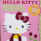 Hello Kitty Shaped Coloring Book