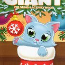 Christmas Edition Giant Coloring and Activity Book 160 Page