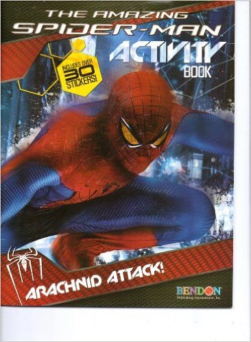 The Amazing Spider-Man Activity Book: Arachnid Attack (Includes Over 30 Stickers)
