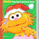 Sesame Street Holiday Jumbo Coloring & Activity Book