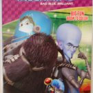 Megamind Bad Blue Brilliant Big Fun Book to Color ~ Smart as All Get-Out